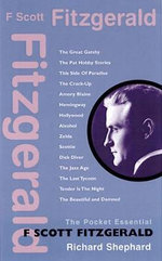 F. Scott Fitzgerald : The Pocket Essential - Richard Shephard
