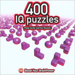 400 IQ Puzzles : Boost Your Brain Power - Philip J. Carter
