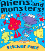 Aliens and Monsters  : Sticker Fun