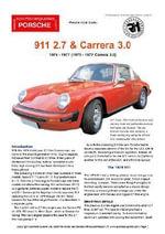 Porsche 911 2.7 Buyers' Guide - Chris Mellor