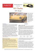 Porsche 911 Turbo Buyers' Guide - Chris Mellor