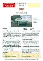 Porsche 912 Buyers' Guide - Chris Mellor