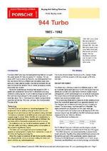 Porsche 944 Turbo Buyers' Guide - Chris Mellor