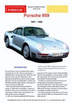 Porsche 959 Buyers' Guide - Chris Mellor