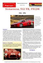 Ferrari Testarossa, 512R, F512M Buyers' Guide - Chris Mellor