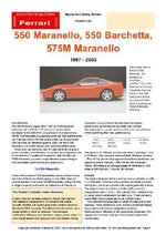 Ferrari 550/575/Barchetta (1997-2003) Buyers' Guide - Chris Mellor