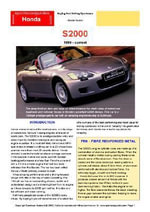 Honda S2000 Buyers' Guide - Chris Mellor