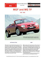 MGF and MG TF Model Guide - Chris, Mellor