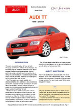 Audi TT Buyers' Guide - Chris Mellor
