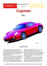 Porsche Cayman - Chris Mellor
