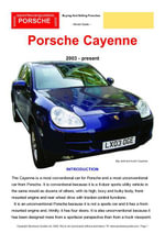 Cayenne Buyers' Guide - Chris Mellor