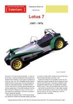Lotus Seven Buying Guide - Chris, Mellor