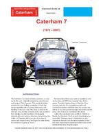 Caterham Seven Buyers' Guide - Chris, Mellor