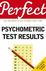 Perfect Psychometric Test Results : Perfect (Random House) - Joanna Moutafi
