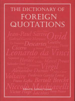 The Dictionary of Foreign Quotations