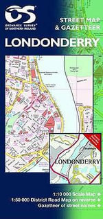 Londonderry Street Map - Ordnance Survey of Northern Ireland