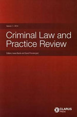 Criminal Law and Practice Review : 2014