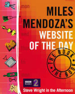 Miles Mendoza's Website of the Day : The Book - Miles Mendoza
