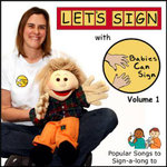 Let's Sign Songs for Children Audio CD : Popular Songs to Sign-a-long to - Vicki Gilbert