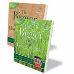 The Bigger Than Average Home and Garden Book : Create Your Dream Home / Create Your Dream Garden - Lizzie O'Prey