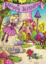 Happy Birthday - Fairies - Mark Davis