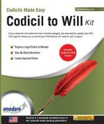 Codicil to Will Kit - Enodare