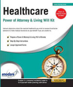 Healthcare Power of Attorney & Living Will Kit - Enodare