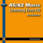 AQA AS/A2 Music Listening Tests : AQA AS/A2 Music Listening Tests - Audio CD - Philip Taylor