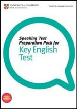 Speaking Test Preparation Pack for KET Paperback with DVD - University of Cambridge ESOL Examinations