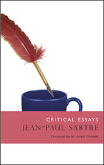 Critical Essays : The French List - Jean-Paul Sartre