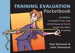 Training Evaluation Pocketbook - Paul Donovan