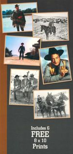 Hollywood Westerns - Book and Poster Pack : The Movies - The Heroes - Helen Akitt