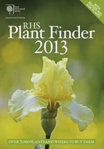 RHS Plant Finder 2013 - Janet Cubey