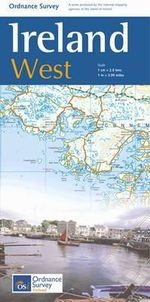 The Ireland Holiday Map - West - Ordnance Survey Ireland