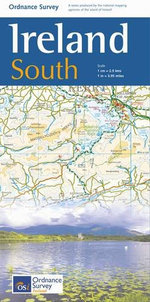 The Ireland Holiday Map - South - Ordnance Survey Ireland