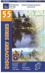 Kildare, Laois, Offaly, Wicklow - Ordnance Survey Ireland