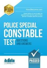 Police Special Constable Tests : Testing Series - Christopher Benham