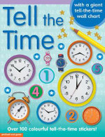 Tell the Time Sticker Book - Chez Picthall