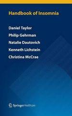 Handbook of Insomnia - Daniel Taylor