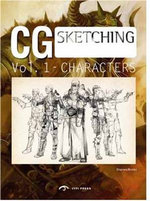 CG Characters : From Sketch to Finish - Dopress Books