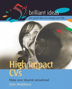High Impact CVs - John Middleton