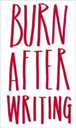 Burn After Writing - Sharon Jones