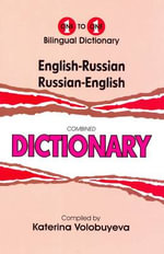 English-Russian & Russian-English One-to-one Dictionary : Script & Roman - K. Volobuyeva