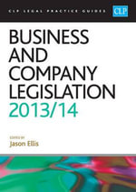 Business and Company Legislation 2013/2014