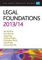Legal Foundations 2013/2014 : Australia 1913 - Keir Bamford