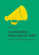 Sustainability Reporting for SMEs : Event Strategies for Successful Business Entertain... - Elaine Cohen