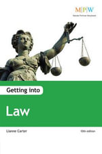 Getting into Law - Lianne Carter