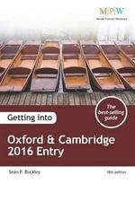 Getting into Oxford & Cambridge 2016 Entry - Sean Buckley