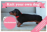 Best in Show : Dachshund Kit : Knit Your Own Dog - Sally Muir