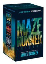 The Maze Runner Series Boxed Set : Includes The Maze Runner, The Scorch Trials & The Death Cure in a collectible slipcase - James Dashner